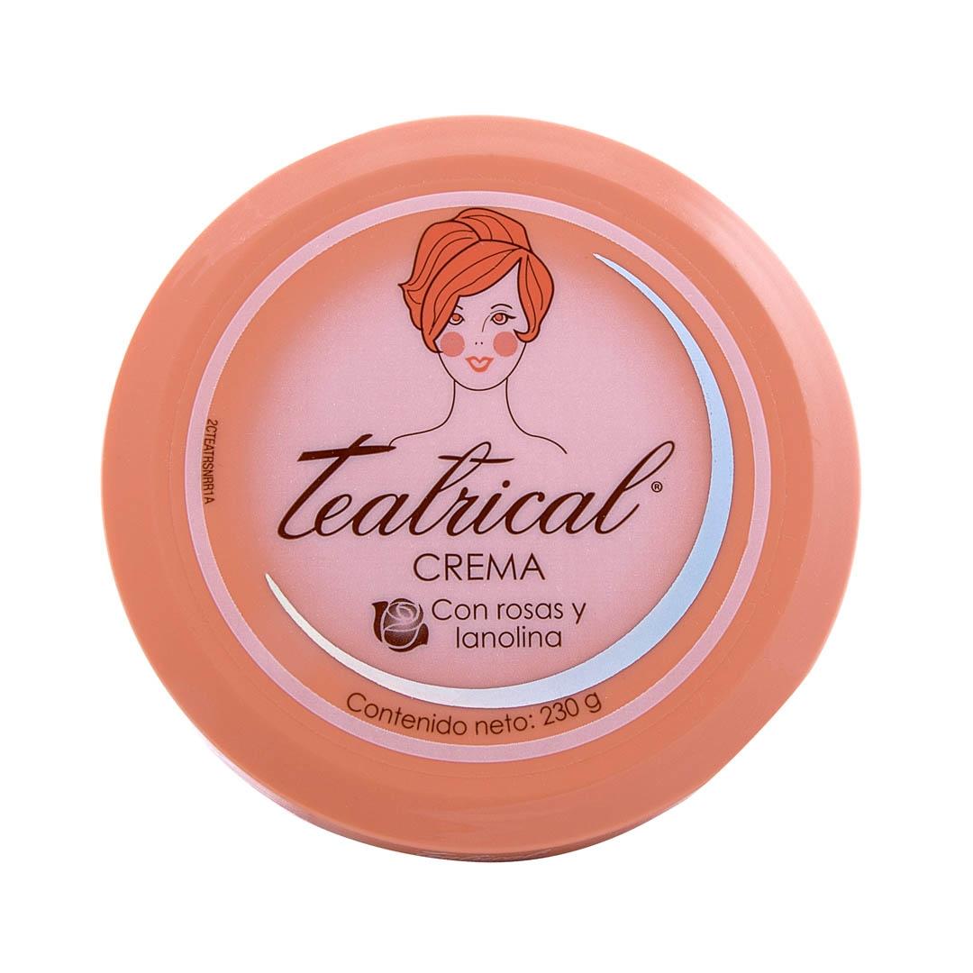 Crema Facial Lanolina Y Rosas 230 g