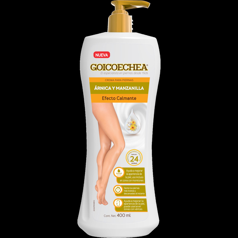 Crema Efecto Calmante Árnica y Manzanilla 400 ml