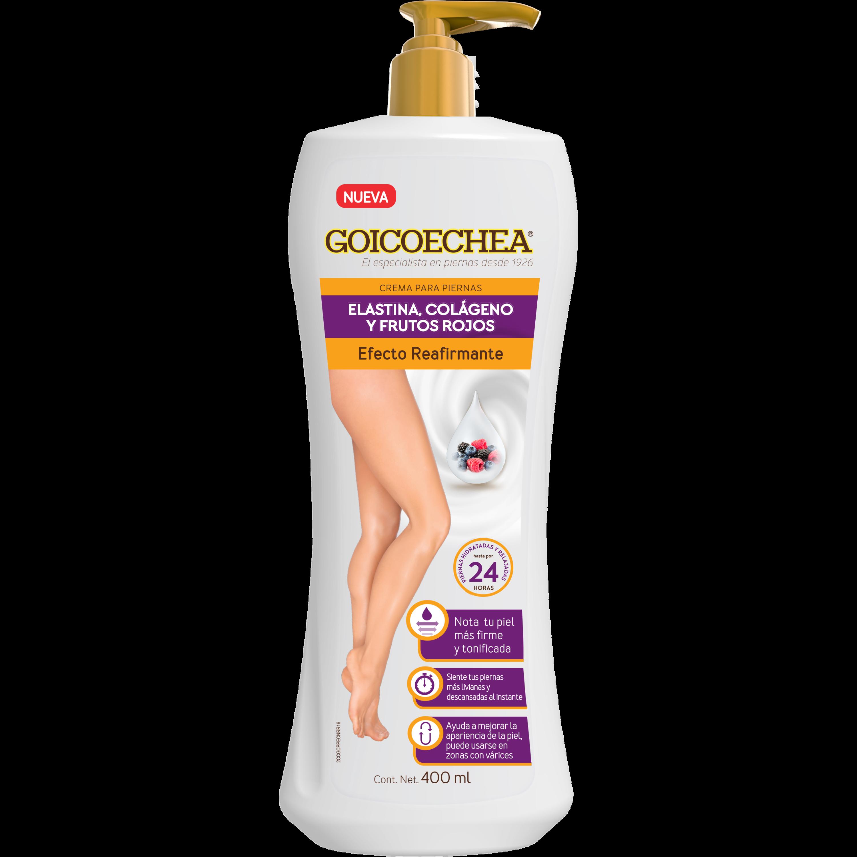 Crema Efecto Reafirmante Colágeno y Frutos Rojos 400 ml