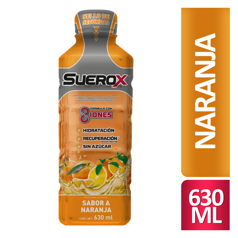 Suerox Naranja 630 Ml