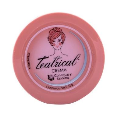 Crema Facial Lanolina Y Rosas 52 g