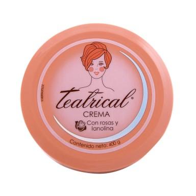 Crema Facial Lanolina Y Rosas 400 g