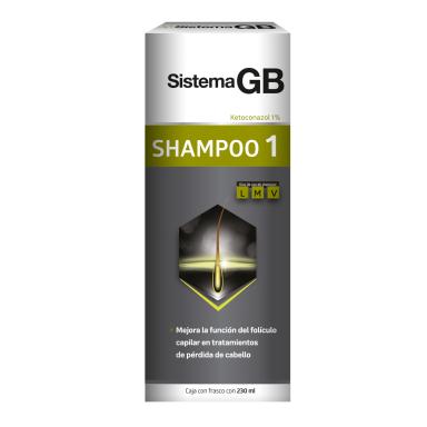 Shampoo 1 Ketoconazol 1% 230 ml