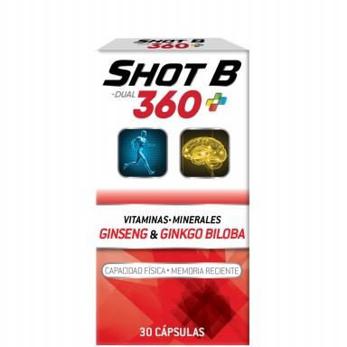 DUAL 360 Vitaminas y Minerales 30 Cápsulas