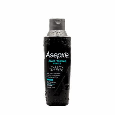 Asepxia Agua Micelar Carbón Détox 200 ml