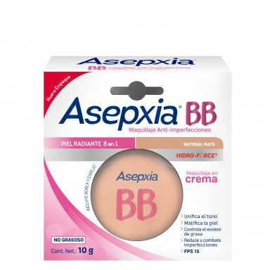 BB Maquillaje Crema Natural Mate 10 g